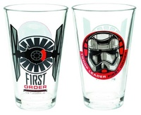 Star Wars: First Order Captain Phasma Glass Tumbler