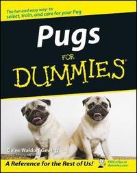 Pugs For Dummies by Elaine Waldorf Gewirtz