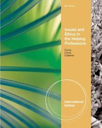 Issues and Ethics in the Helping Professions, International Edition by Gerald Corey image