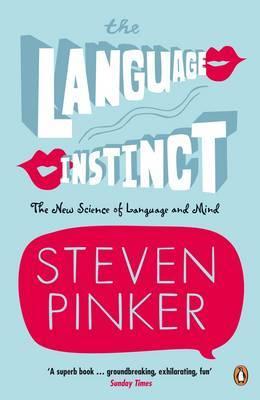 The Language Instinct by Steven Pinker image