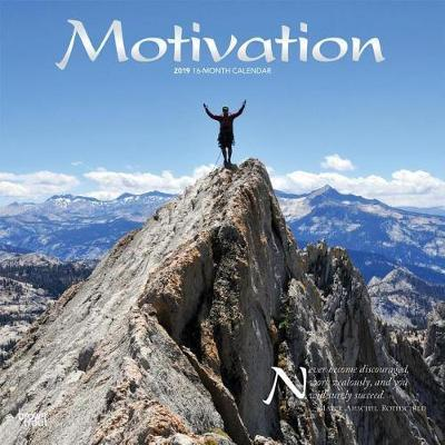 Motivation 2019 Square Wall Calendar by Inc Browntrout Publishers image