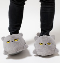 Smoko: Oliver Cat - USB Heated Slippers