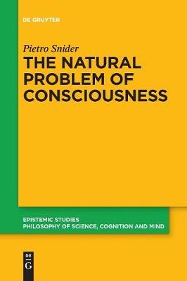 The Natural Problem of Consciousness by Pietro Snider