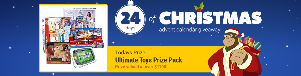 24 Days: Ultimate Toys Prize Pack