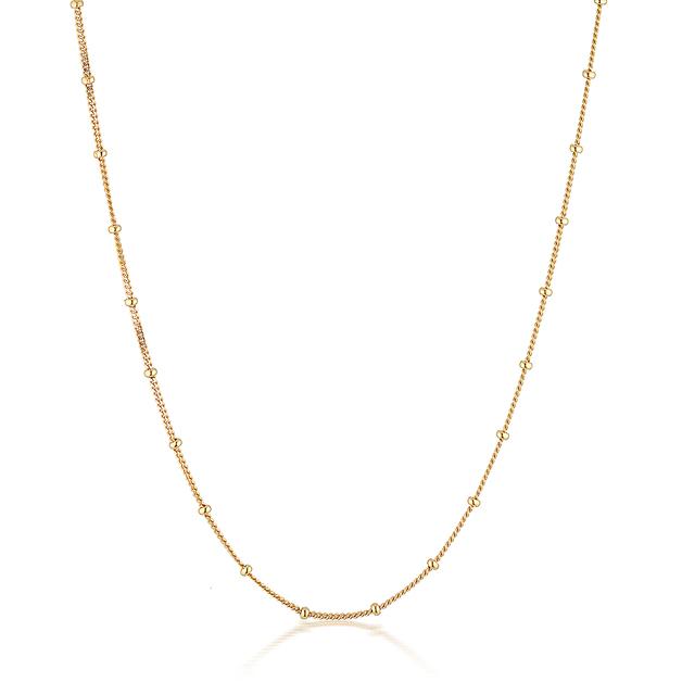 El & Ro: Adore Bobble Chain - Gold