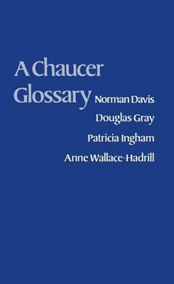 A Chaucer Glossary by Norman Davis image