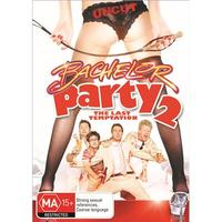 Bachelor Party 2 on DVD