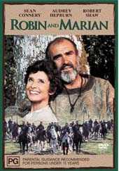 Robin And Marian on DVD