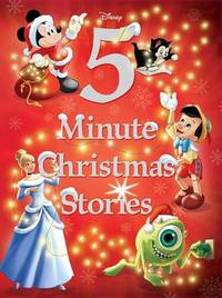Disney 5-Minute Christmas Stories by Disney Book Group