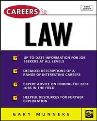 Careers in Law by Gary A Munneke