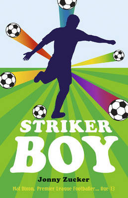 Striker Boy by Jonny Zucker image