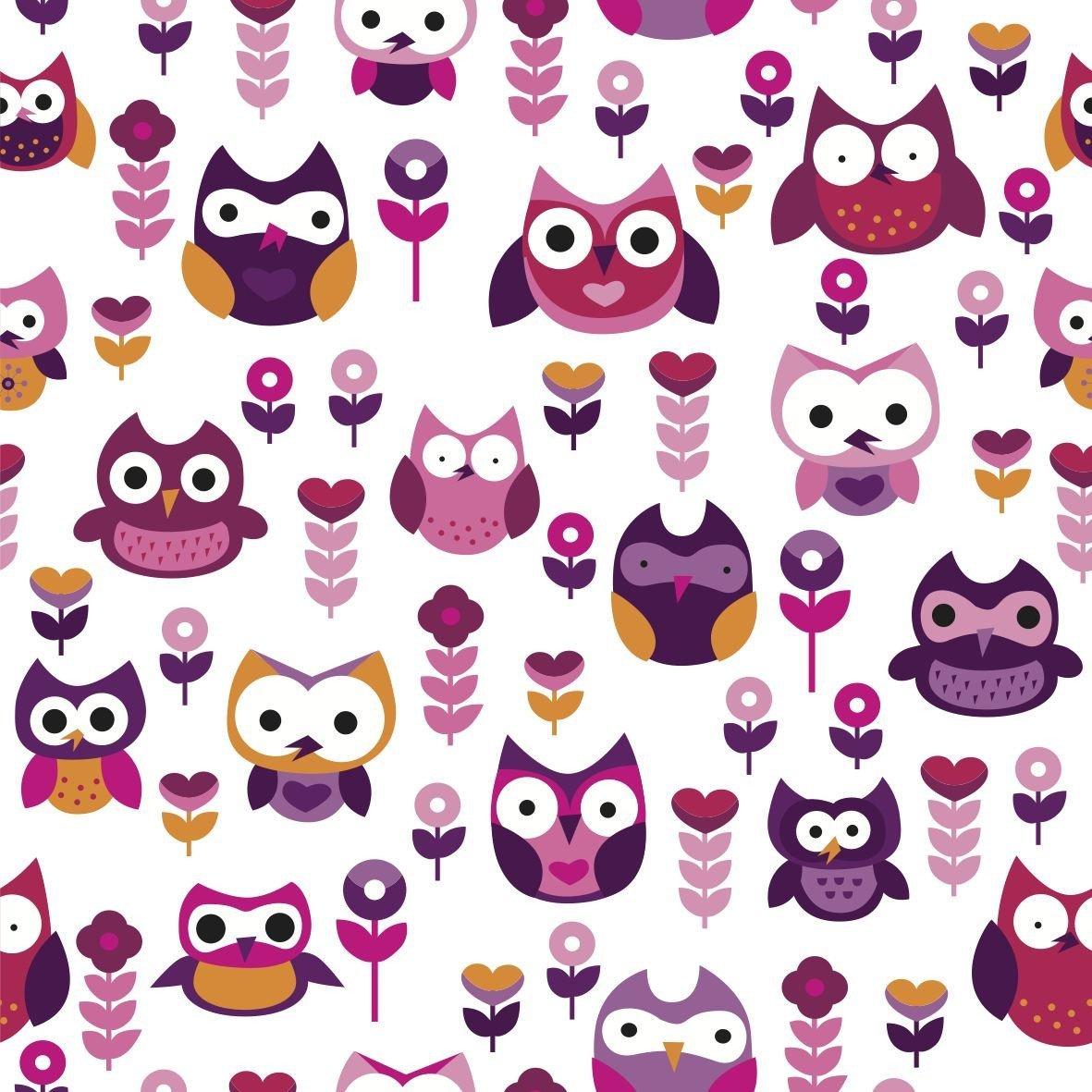 Little Shades: Window Shade - Owls of Fun image