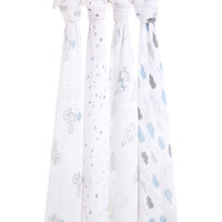 Aden + Anais: Classic Swaddles - Night Sky Reverie (4 Pack)