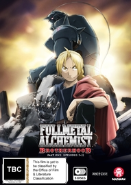 Fullmetal Alchemist: Brotherhood - Part 1 (Eps 1-33) on DVD
