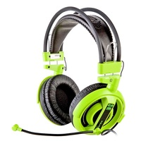 E-Blue Cobra Gaming Headset (Green) for PC Games