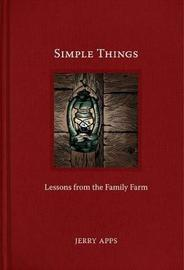 Simple Things by Jerry Apps image