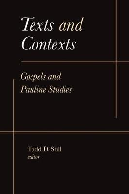 Texts and Contexts image