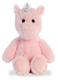 Aurora: Cuddly Friends Plush - Pink Unicorn (Large)