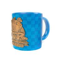 Crash Team Racing Metal Badge Mug