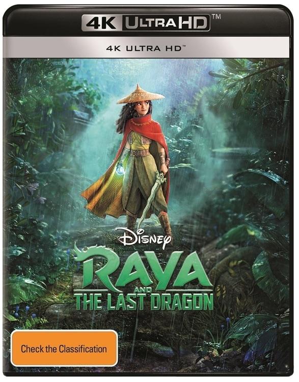 Raya And The Last Dragon (4K UHD) on UHD Blu-ray