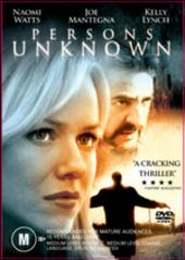 Persons Unknown on DVD
