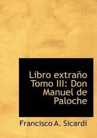 Libro Extrano Tomo III by Francisco Sicardi image