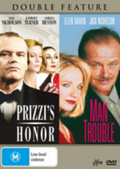 Prizzi's Honor / Man Trouble - Double Feature on DVD