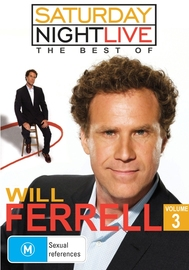 Saturday Night Live: The Best Of Will Ferrell (Volume 3) on DVD
