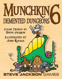 Munchkin 6 - Demented Dungeons Expansion