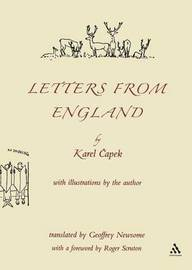 Letters from England by Karel Capek image