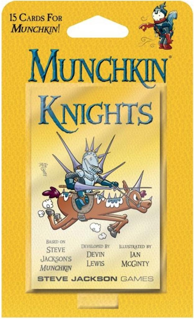 Munchkin: Knights - Game Expansion image