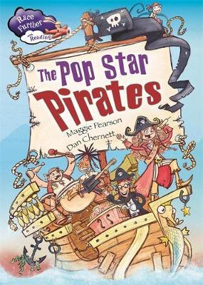 Race Further with Reading: The Pop Star Pirates by Maggie Pearson image