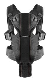 Baby Bjorn Carrier Miracle - Black Mesh