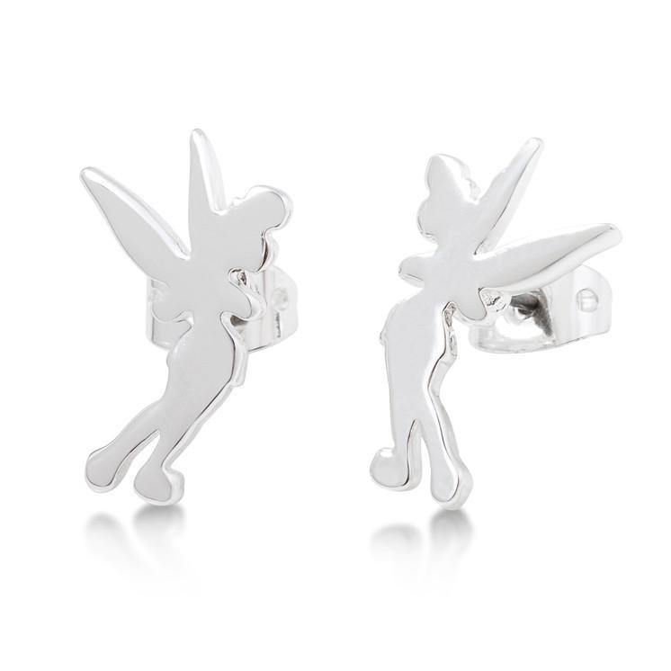 Disney Tinker Bell Silhouette Stud Earrings image