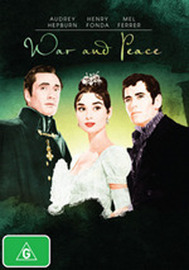 War and Peace on DVD image