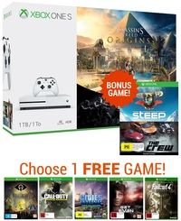 Xbox One S 1TB Assassin's Creed Origins Bundle for Xbox One