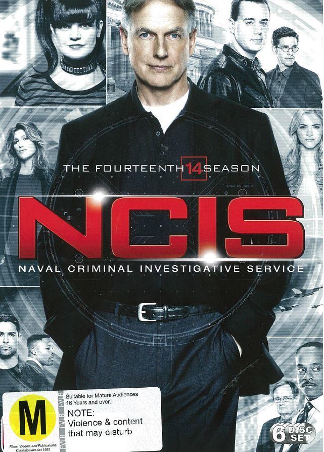 NCIS - The Fourteenth Season on DVD image
