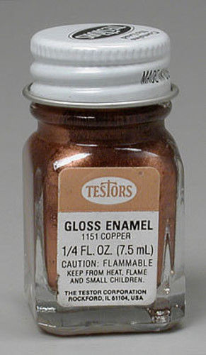 Testors: Enamel Paint - Copper
