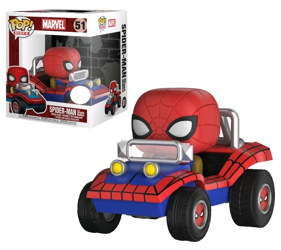 Marvel: Spider Mobile - Pop! Ride Vinyl Set image