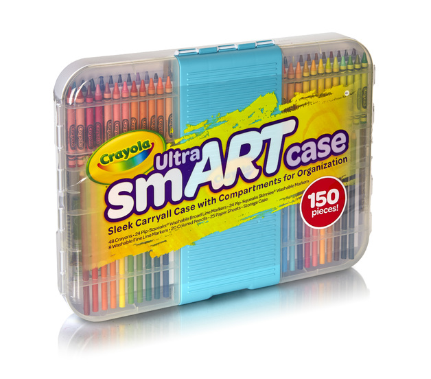 Crayola smART Case (150 pieces)
