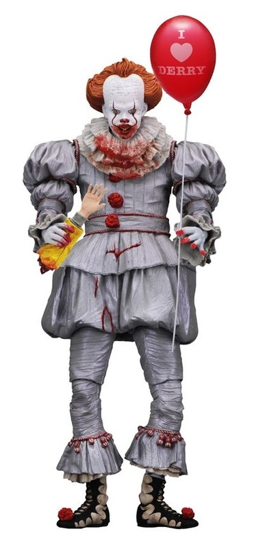 """It (2017): Pennywise """"I Heart Derry"""" - 7"""" Action Figure"""