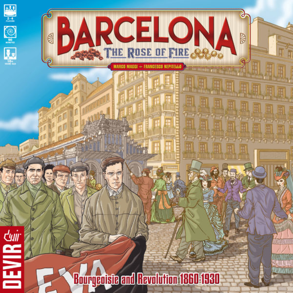 Barcelona: The Rose of Fire - Board Game