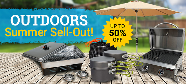 Outdoors Summer Sell-Out *Up to 50% off*