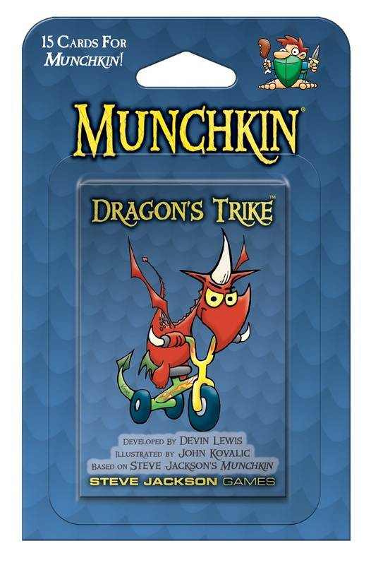 Munchkin: Dragon's Trike - Game Expansion