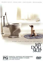 My Dog Skip on DVD