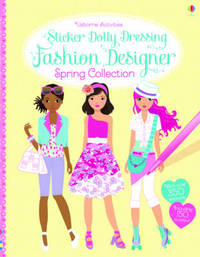 Sticker Dolly Dressing Fashion Designer Spring Collection by Fiona Watt