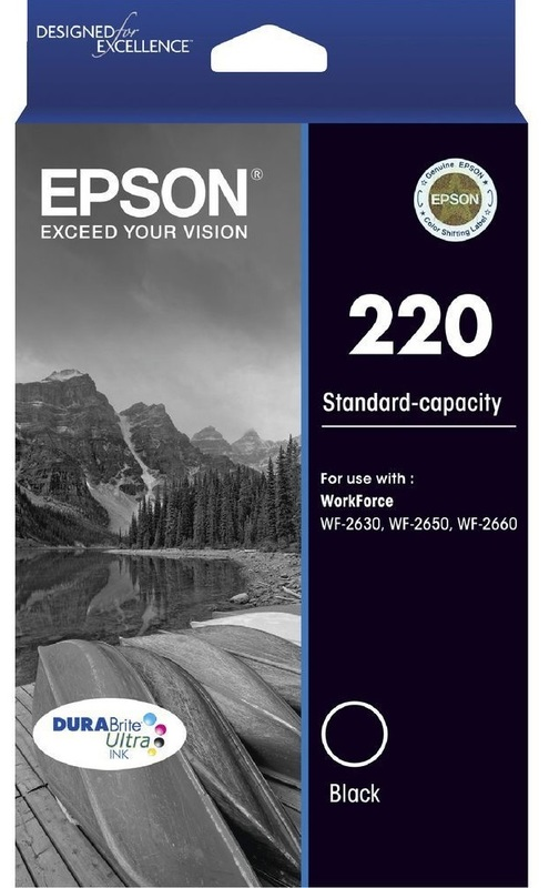 Epson Ink Cartridge - 220 (Black)