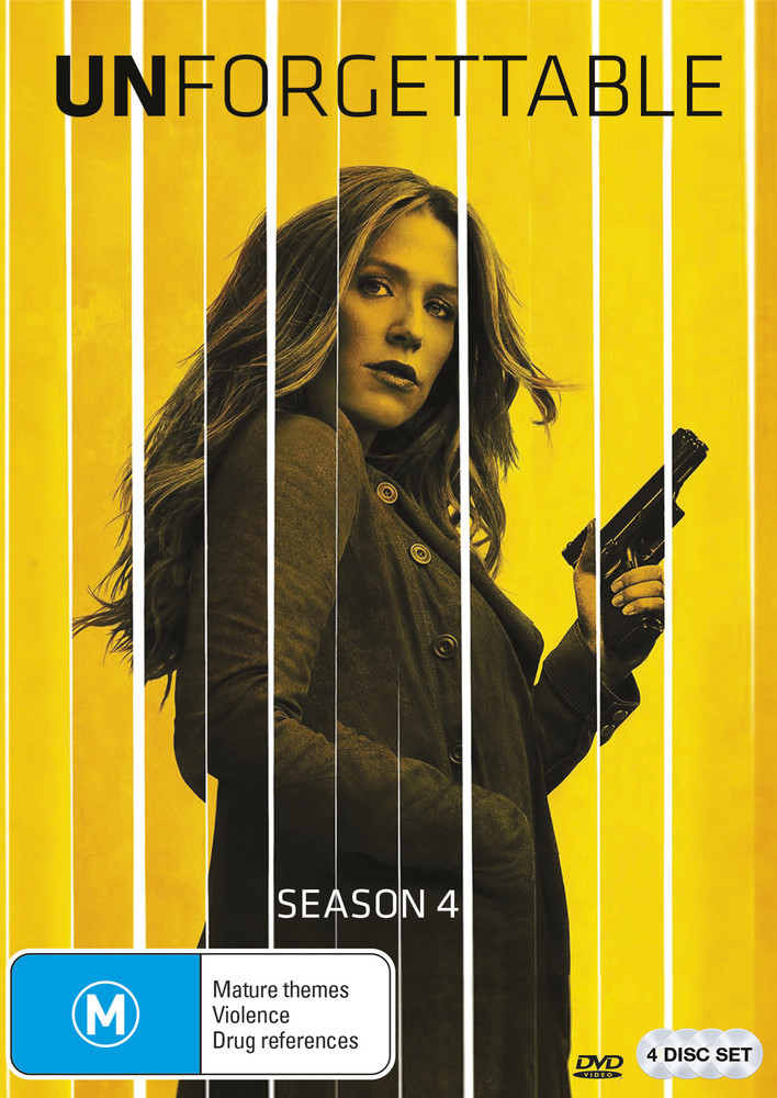 Unforgettable - Season 4 on DVD image