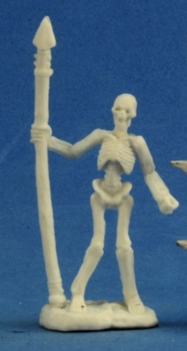 Dark Heaven Bones - Skeleton Warrior Spearmen (3pc)