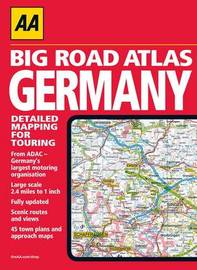 AA Big Road Atlas Germany image